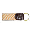 White & Orange Key Fob