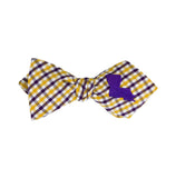 Louisiana Bow Tie - Purple & Gold