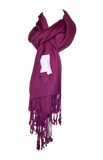 Mississippi Scarf - Maroon & White