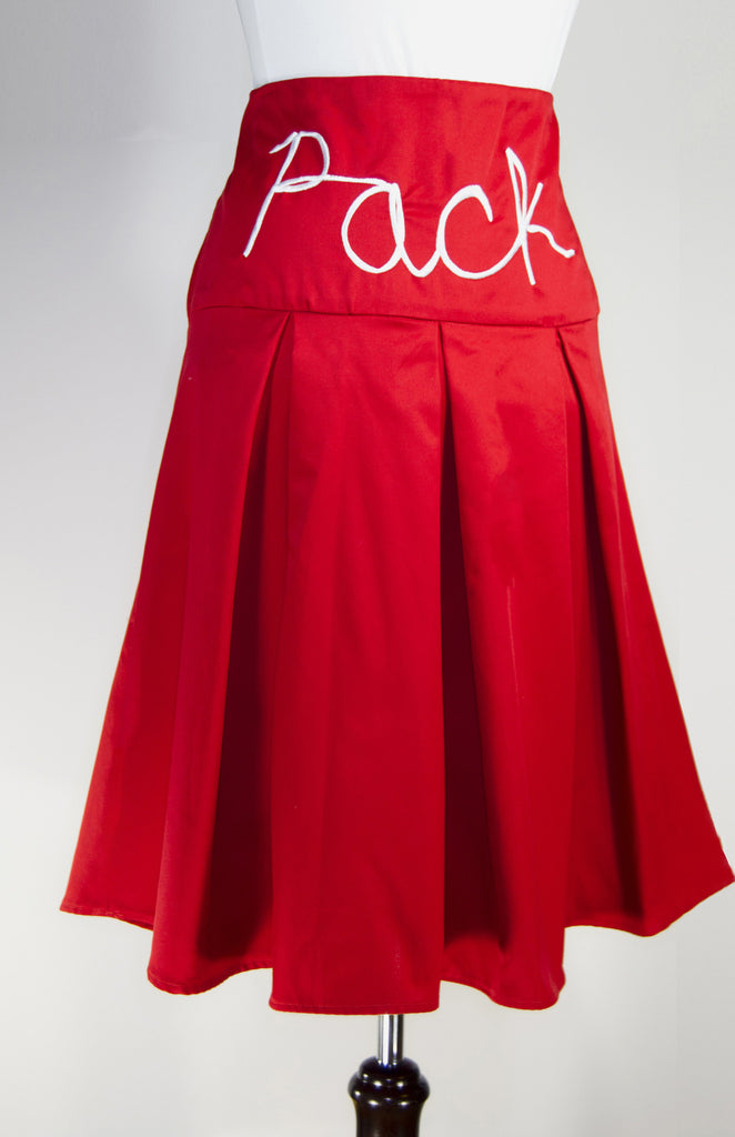NCSU Wolfpack Pleated Skirt- Go Pack