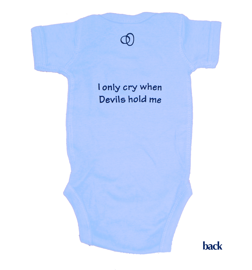 North Carolina Onesie - Light Blue & Navy