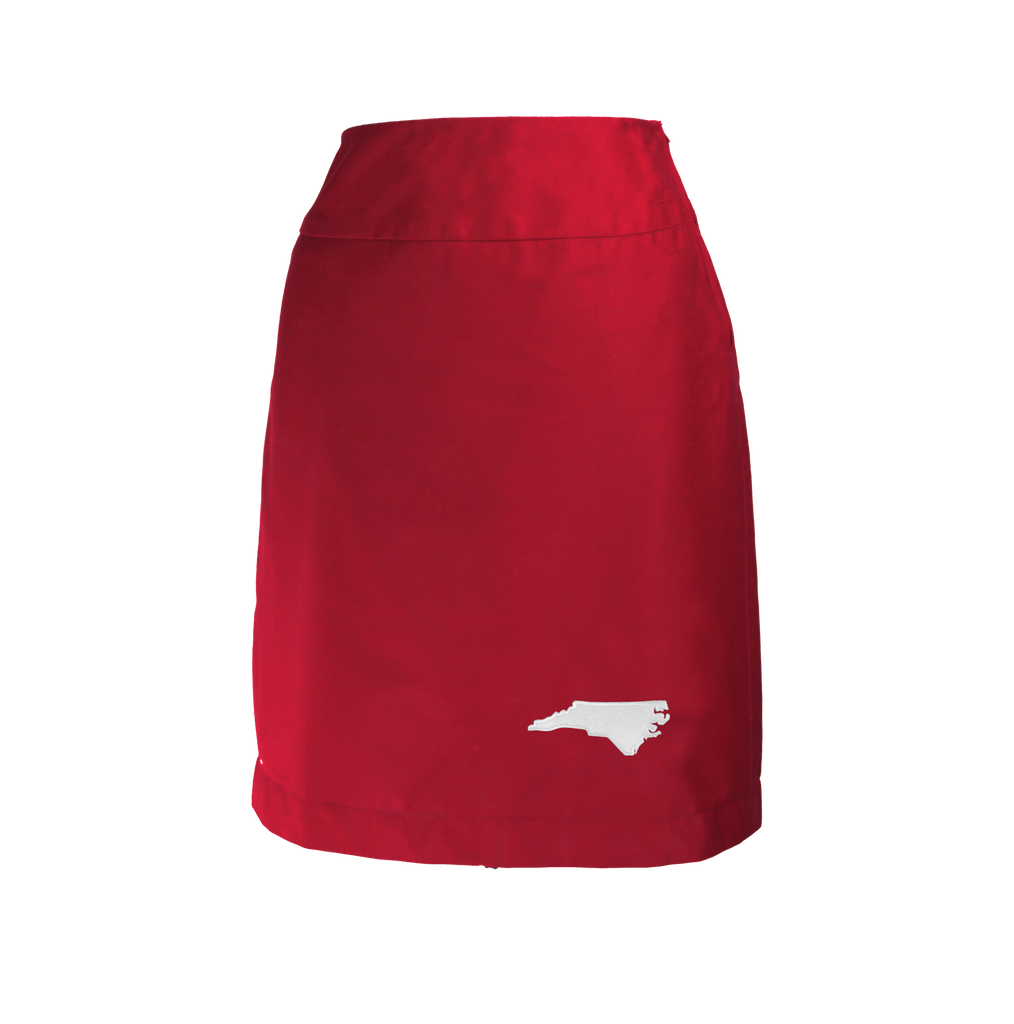 North Carolina Skirt - Red & White