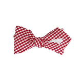 North Carolina Bow Tie - Red & White