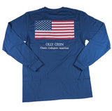 American Flag Long-Sleeve T-Shirt
