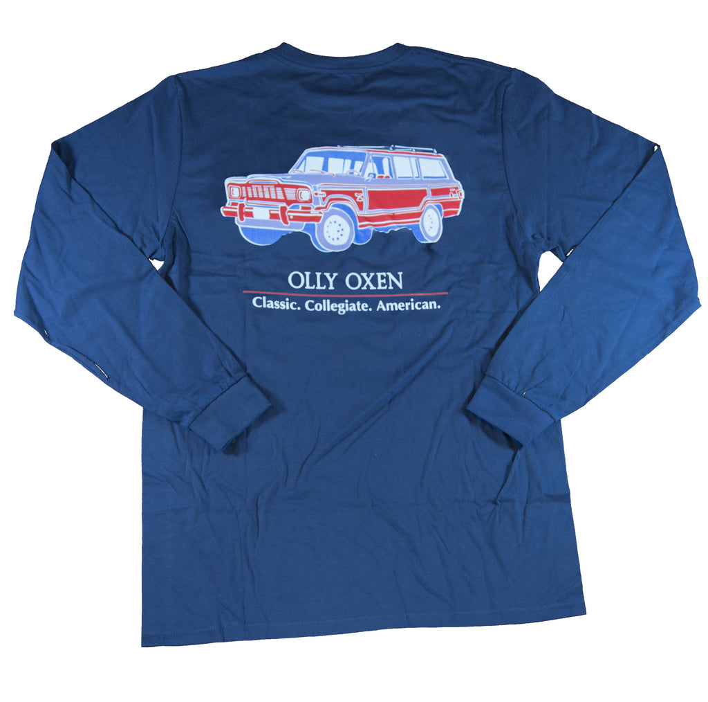 Navy Wagoneer Long-Sleeve T-Shirt