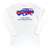 White Wagoneer Long-Sleeve T-Shirt
