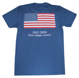 American Flag T-Shirt Navy