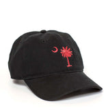 South Carolina Palmetto Hat - Black & Garnet