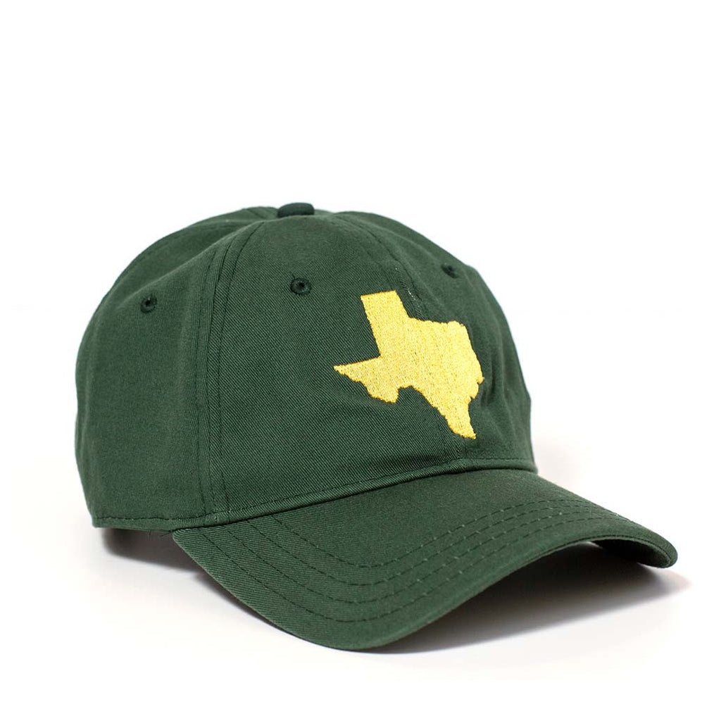 Texas Hat - Green & Gold