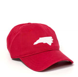 North Carolina Hat - Red & White