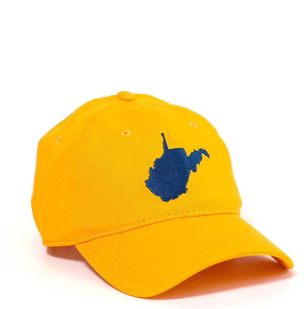 West Virginia Hat - Gold & Navy