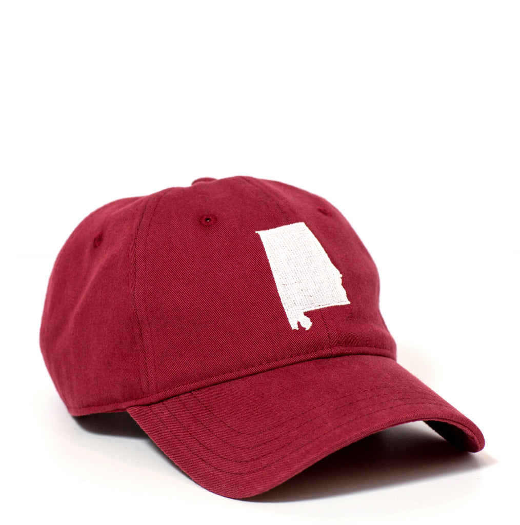 Alabama Hat - Crimson & White