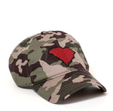 South Carolina Hat - Camo & Garnet