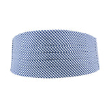 Royal Blue Gingham Cummerbund