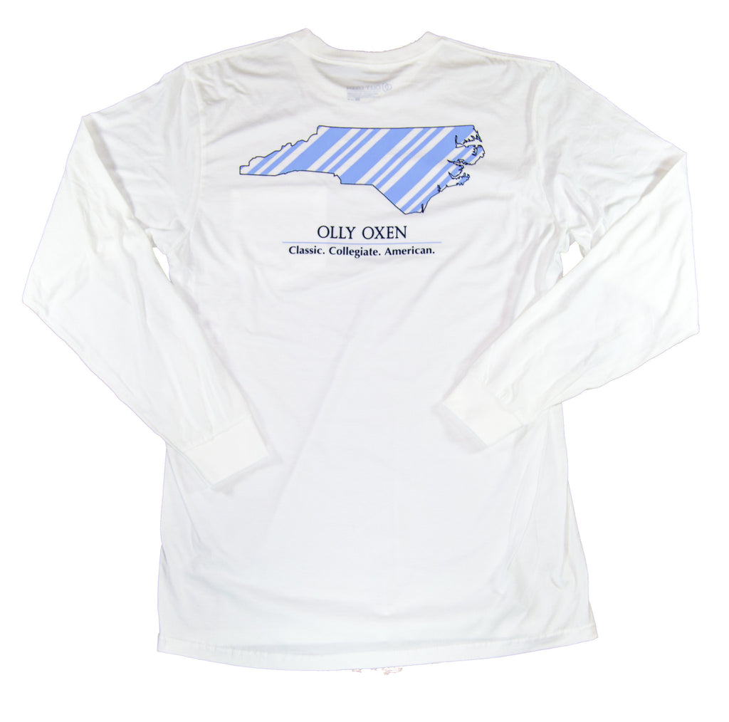 North Carolina Long-Sleeve T-Shirt Carolina Blue