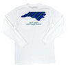 North Carolina Long-Sleeve T-Shirt Navy & Teal