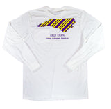North Carolina Long-Sleeve T-Shirt Purple & Gold