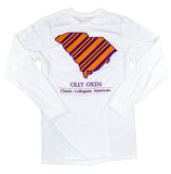 South Carolina Long-Sleeve T-Shirt Orange & Purple