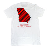 Georgia Repp T-Shirt Red & Black