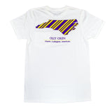 North Carolina Repp T-Shirt Purple & Gold