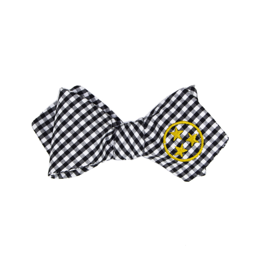 Tennessee Bow Tie - Black & Gold