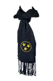 Tennessee Scarf - Black & Gold