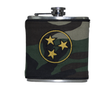 Tennessee Flask - Camo, Gold & Black