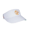 Tennessee Visor - White & Orange