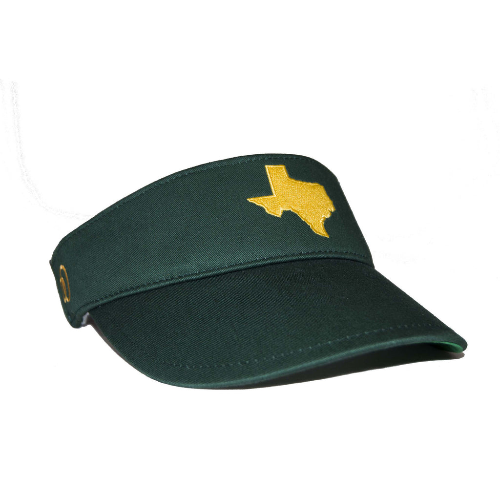 Texas Visor - Green & Yellow