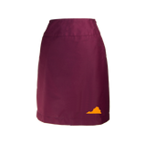Virginia Skirt - Maroon & Orange
