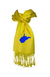 West Virginia Scarf - Gold & Navy