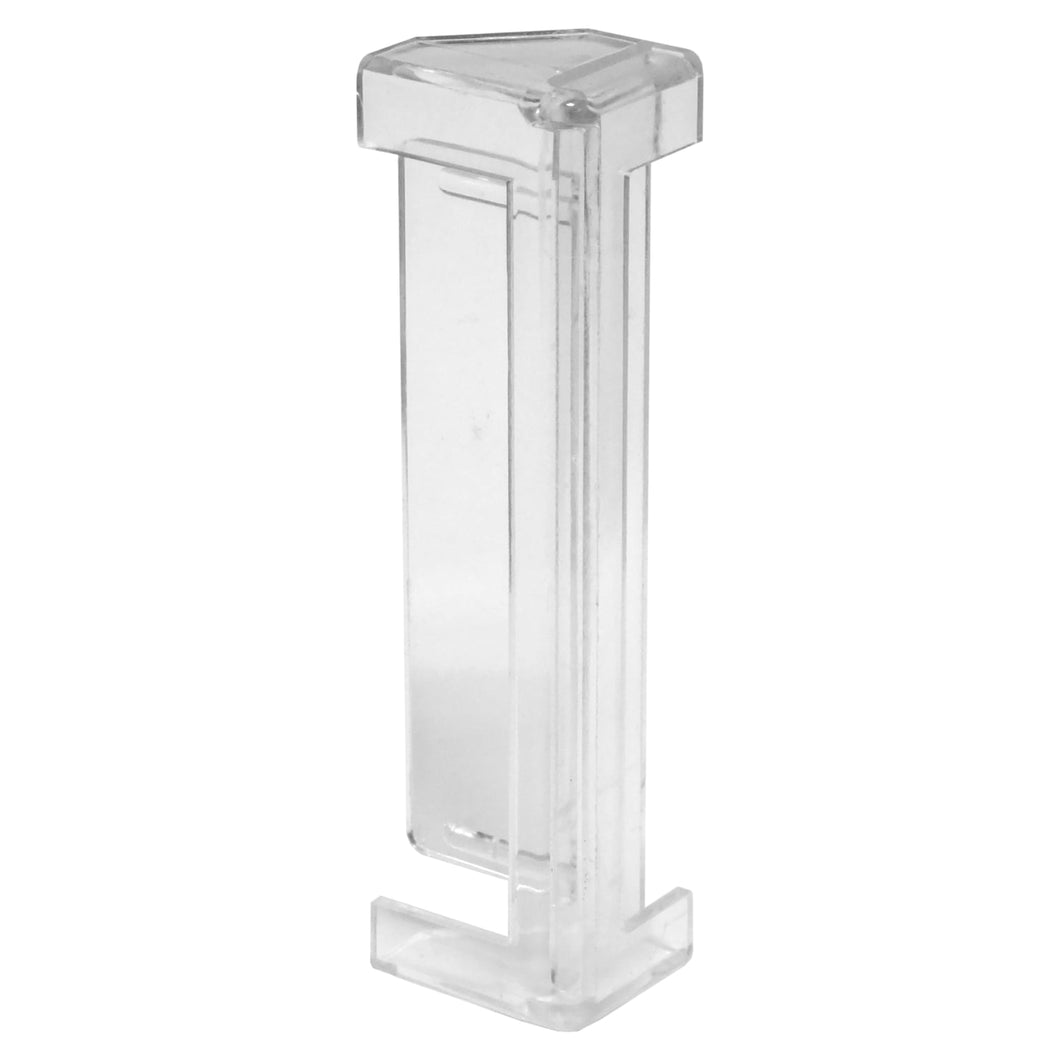 Valance Square End - Clear Edge