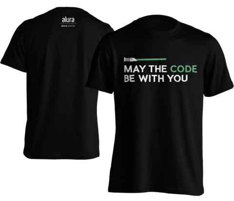 Camiseta May the code be with you