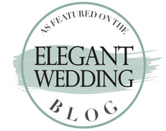 badge from elegant wedding blog
