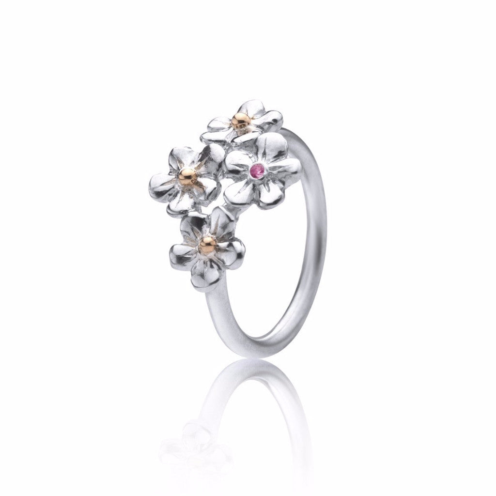 Forget me not multi ring
