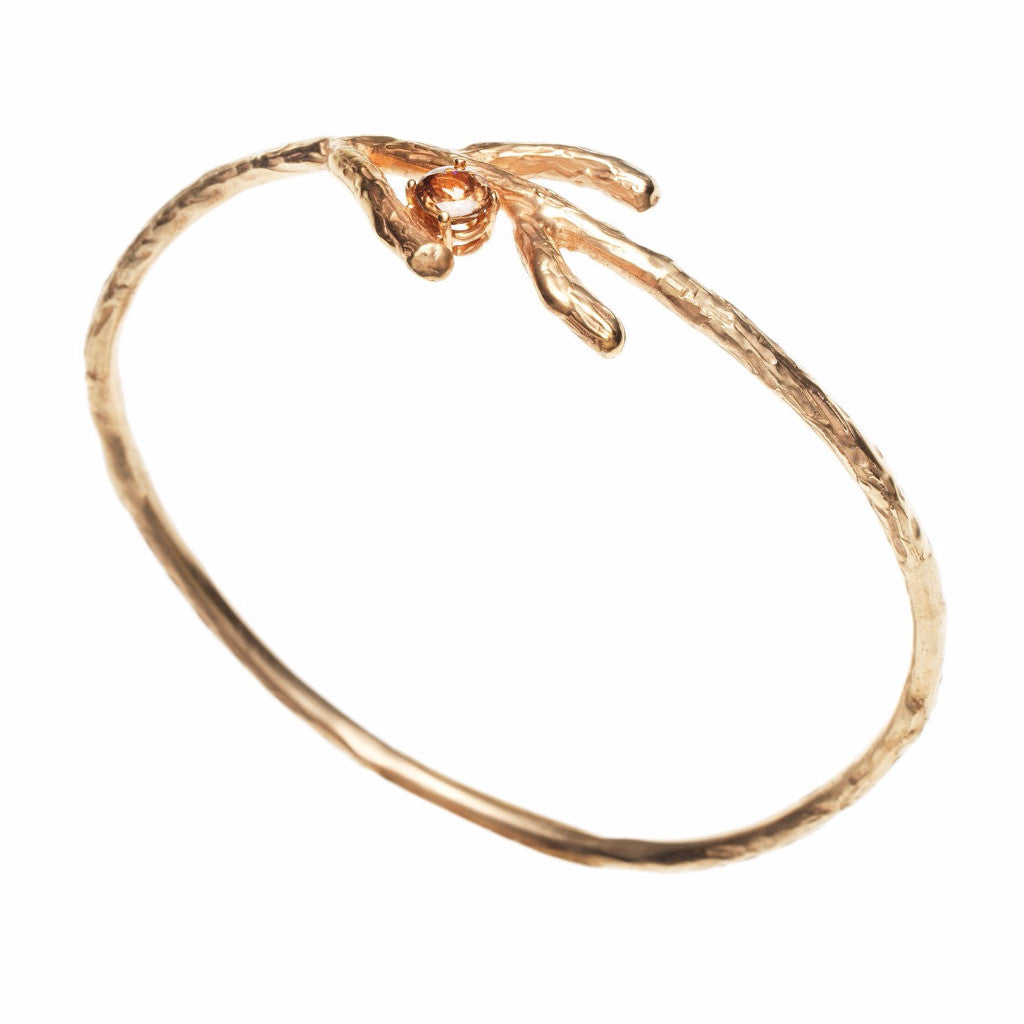 Blooming branches -bangle - Kathryn Rebecca