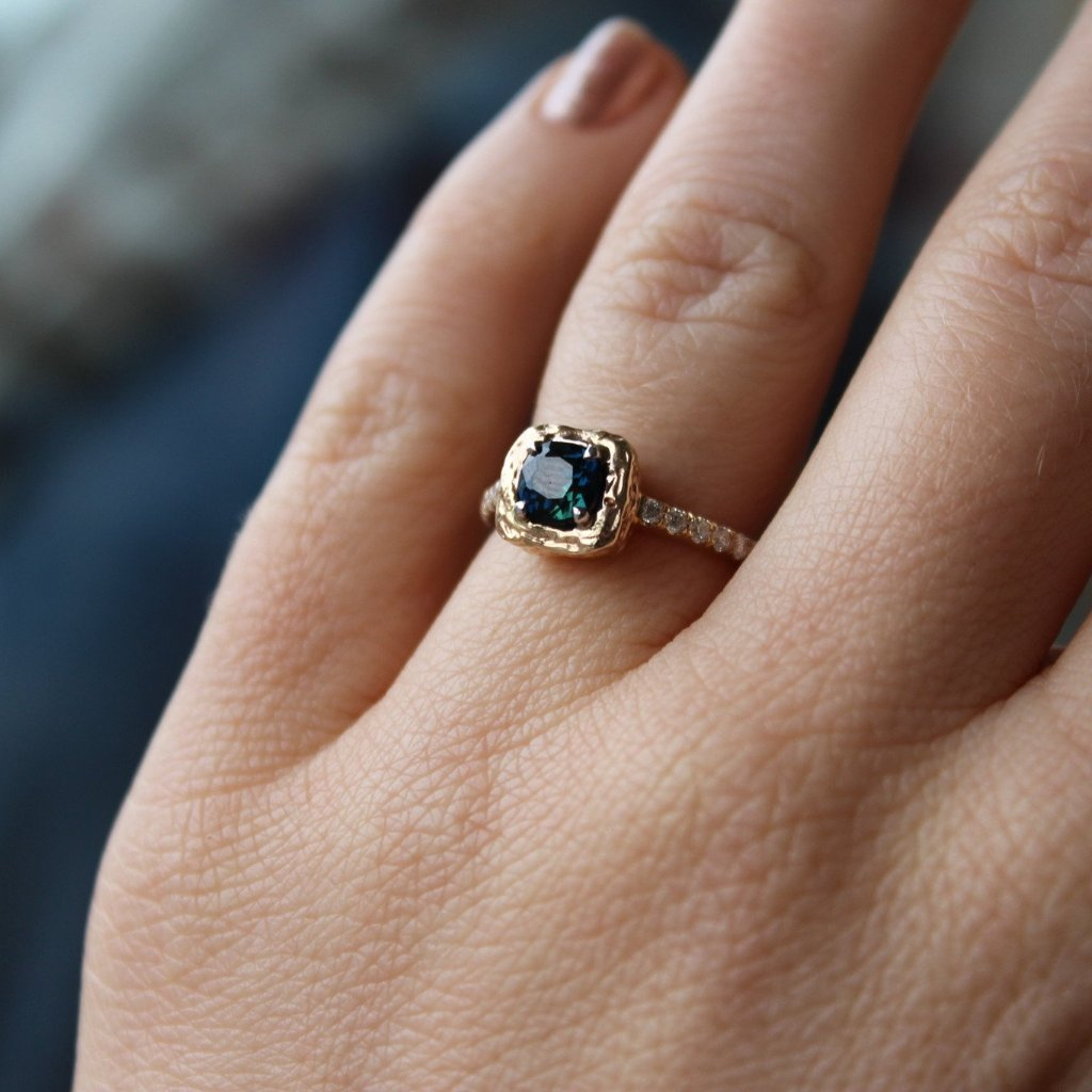 Cushion Engagement ring - Kathryn Rebecca