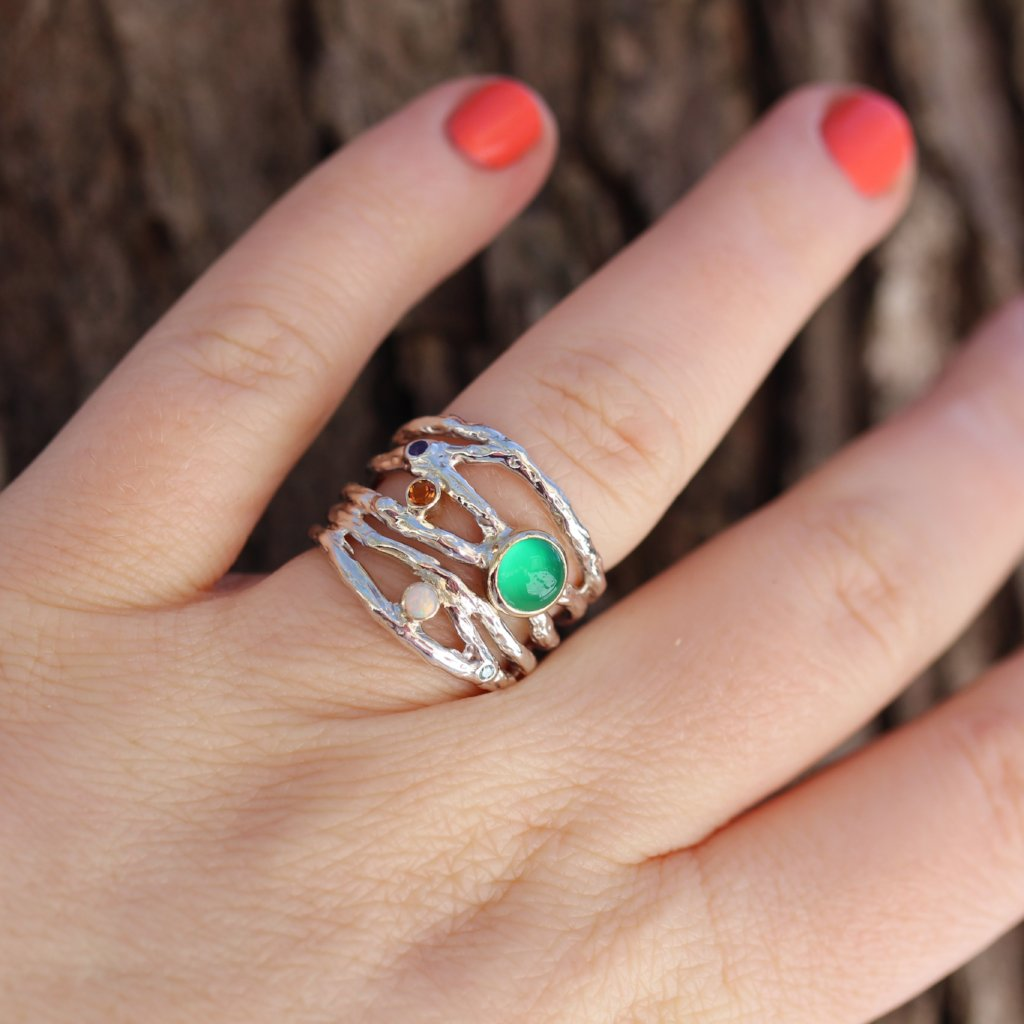 Multi Branch Ring - Kathryn Rebecca