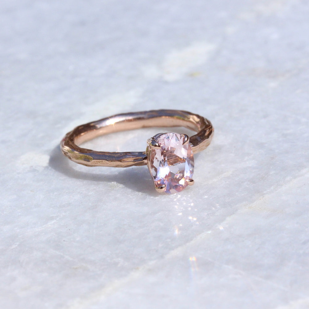 Oval Engagement ring - Kathryn Rebecca