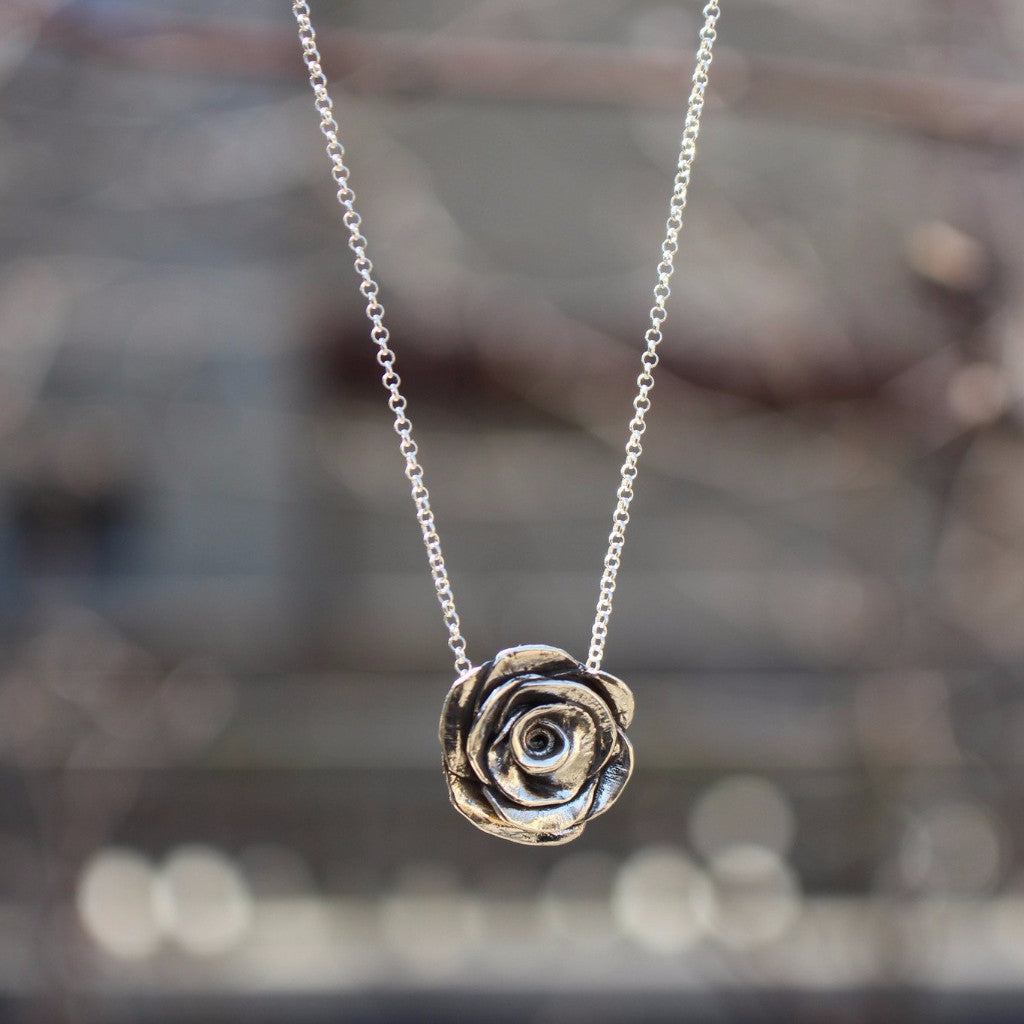 Rose Necklace - Kathryn Rebecca