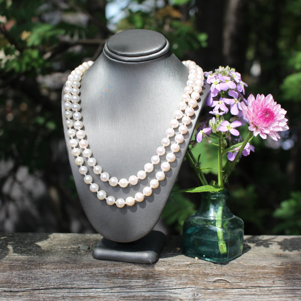Two-strand Pearl Necklace - Kathryn Rebecca