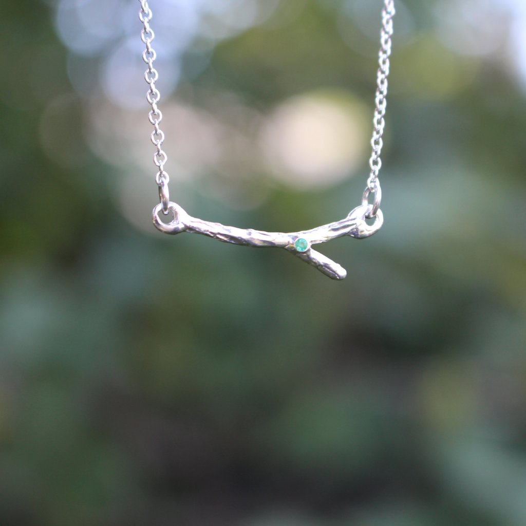 Delicate branch necklace - Kathryn Rebecca