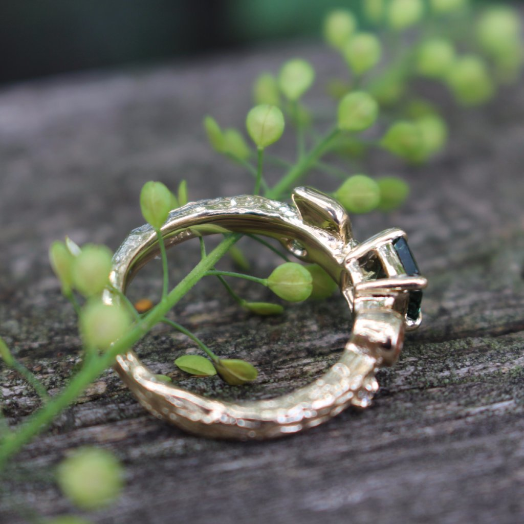 Spring Breeze Engagement ring - Kathryn Rebecca
