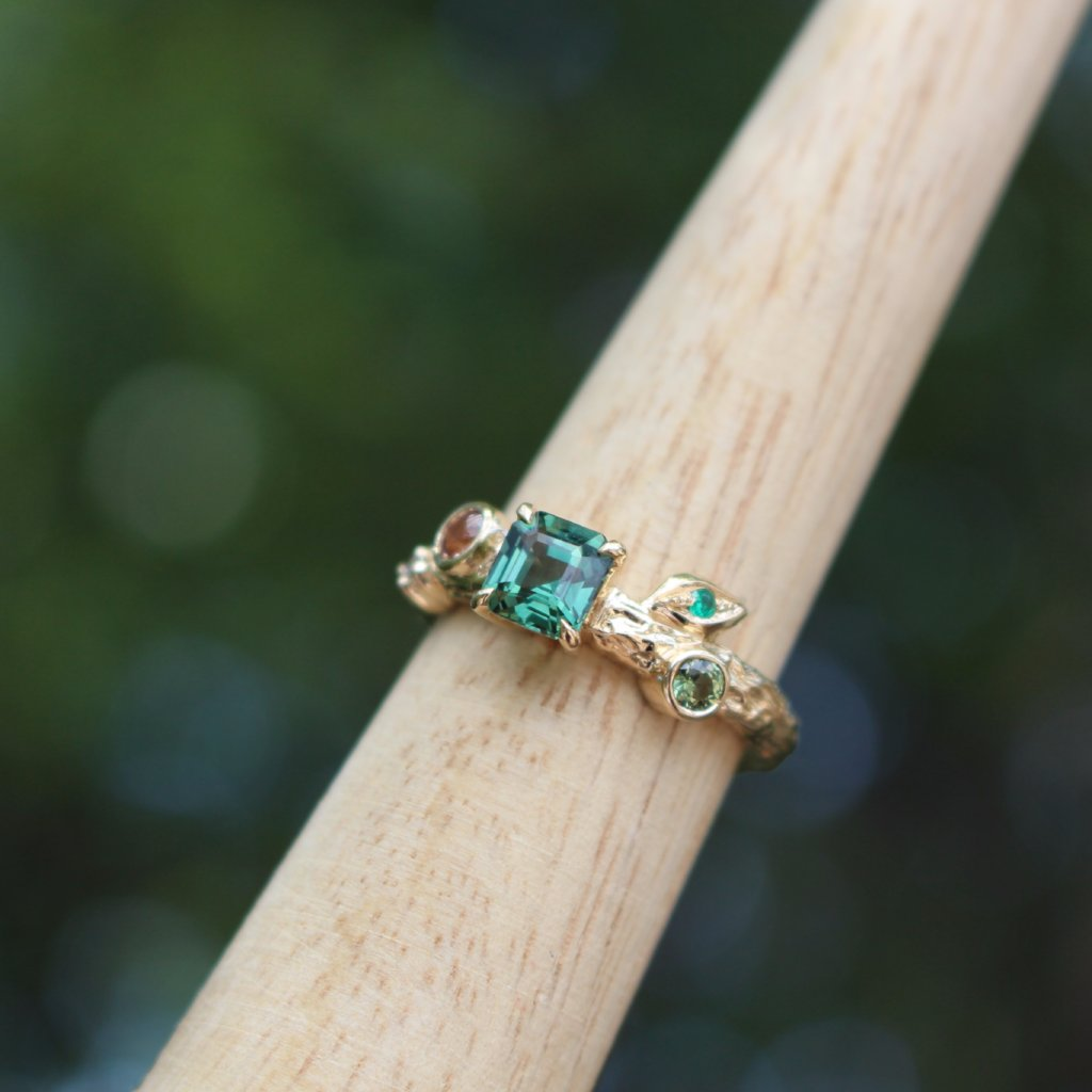 Spring Breeze Engagement ring