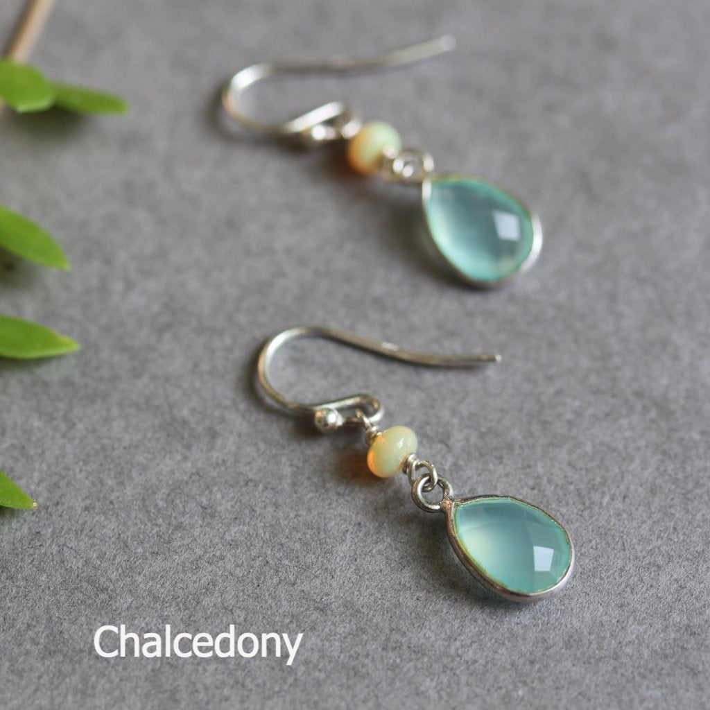 Drop gemstone earrings - Kathryn Rebecca