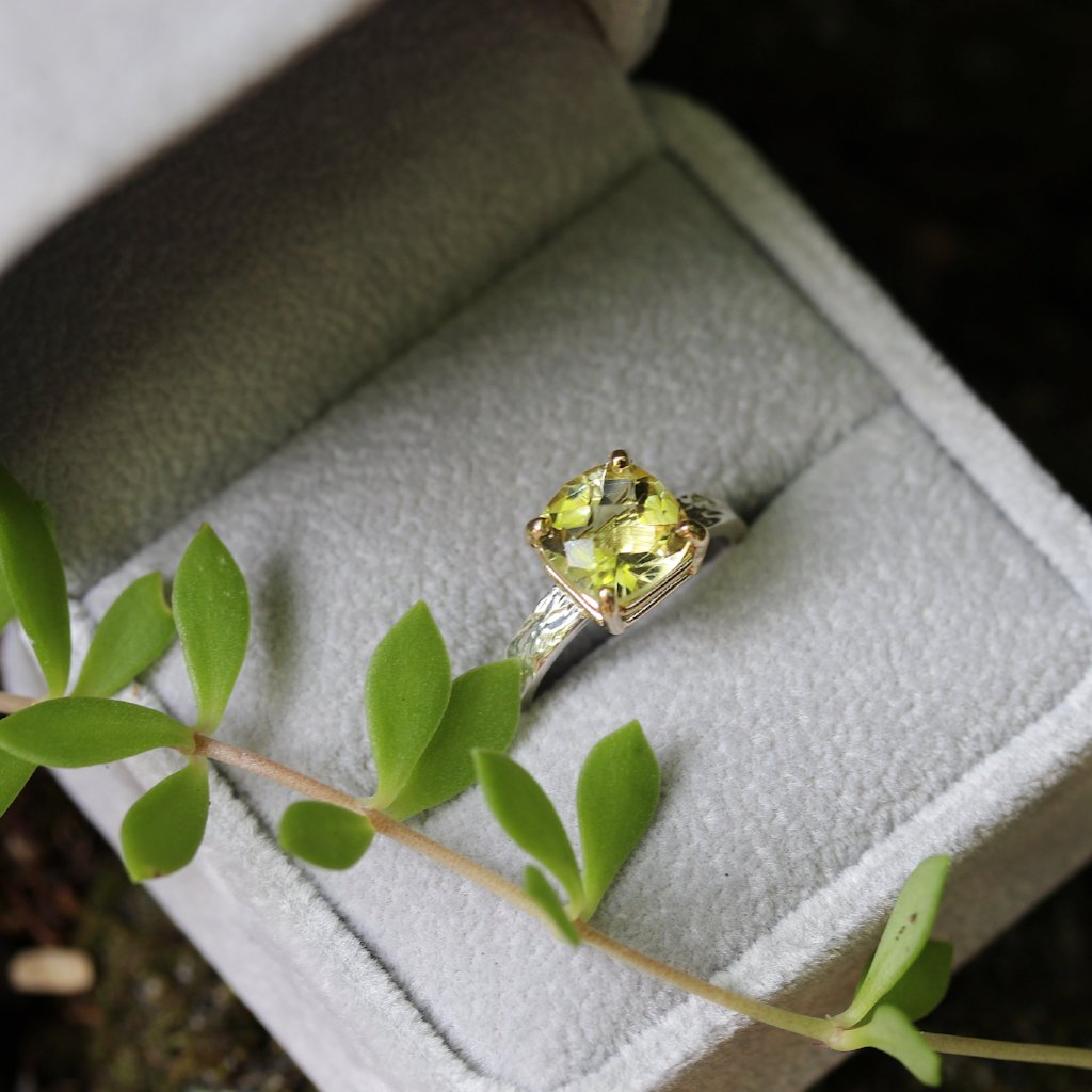 Lemon Quartz ring - Kathryn Rebecca