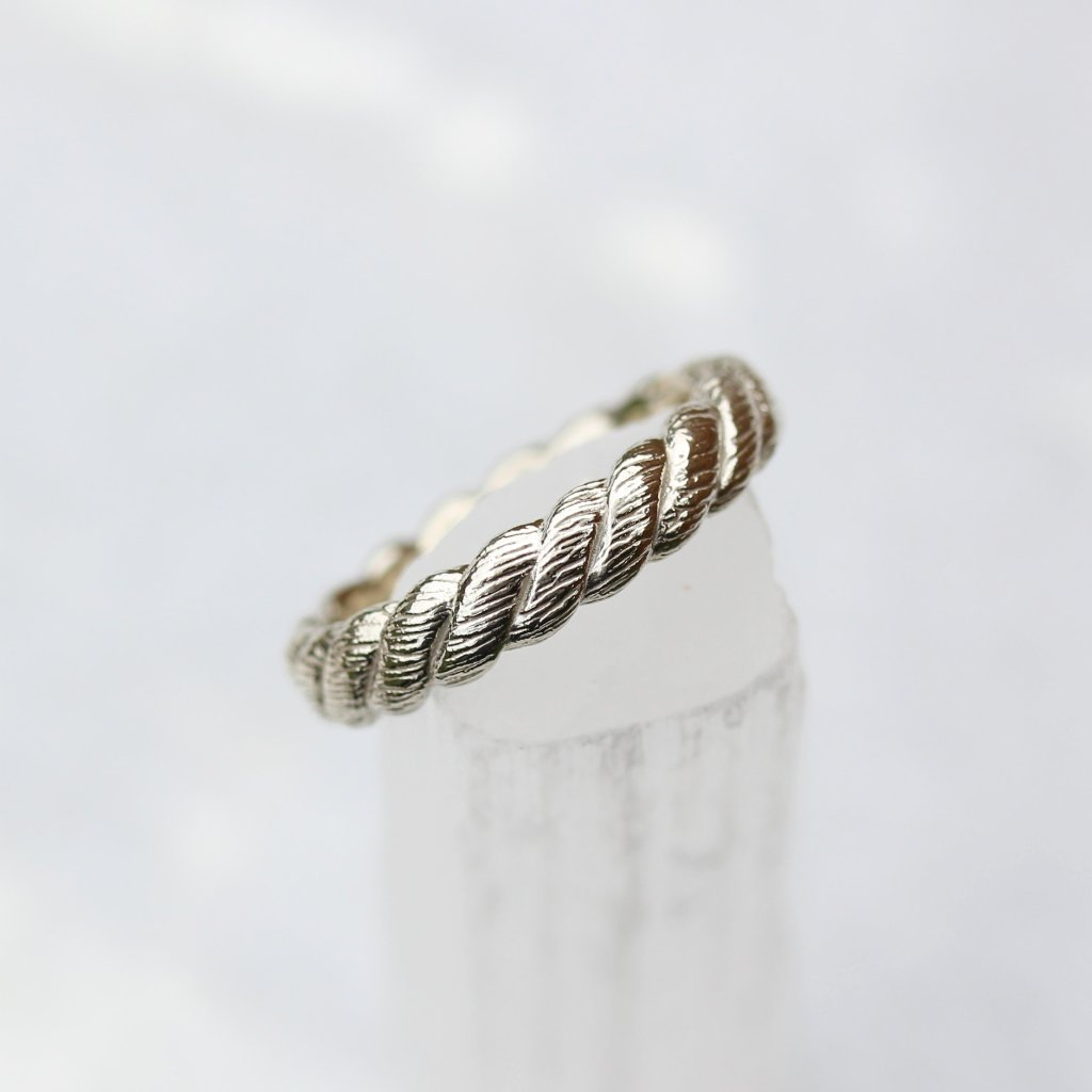 Rope Wedding Ring - Kathryn Rebecca