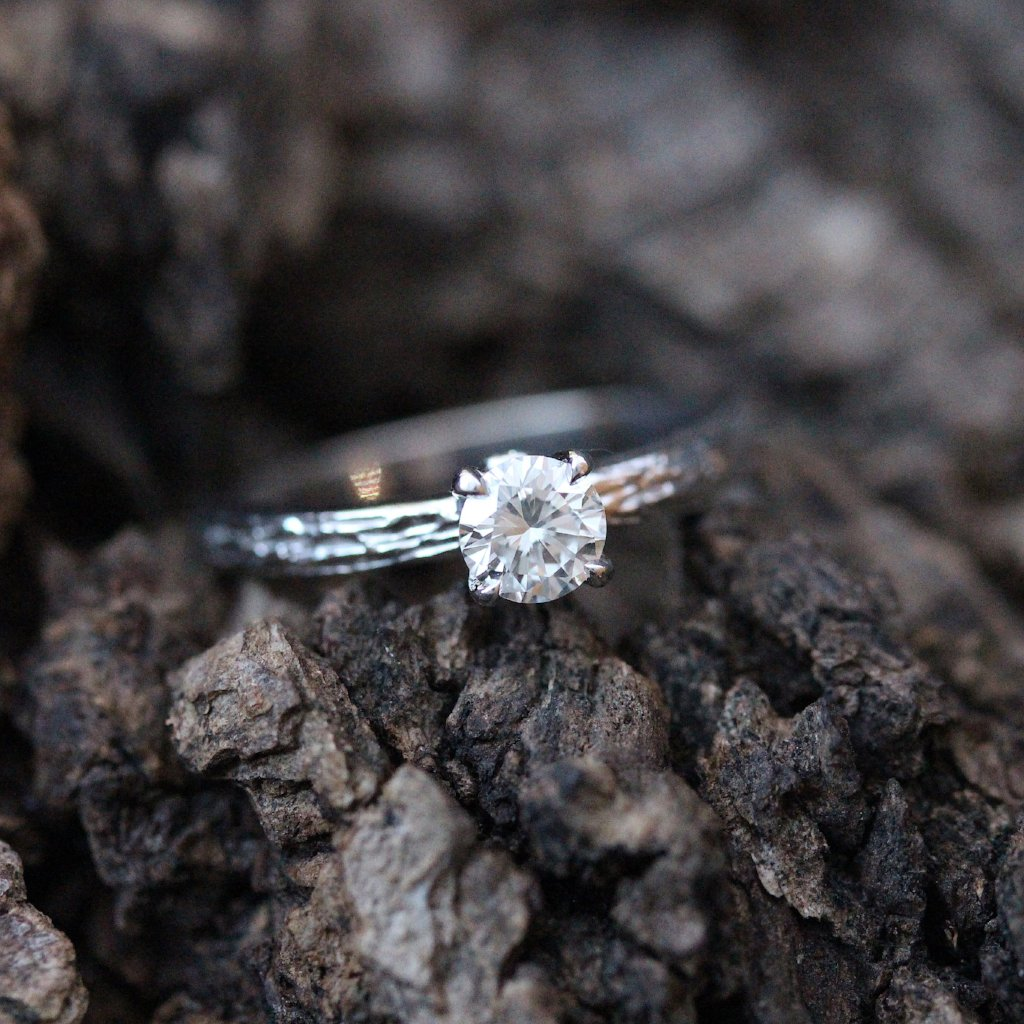 Diamond Branch Engagement Ring - Kathryn Rebecca