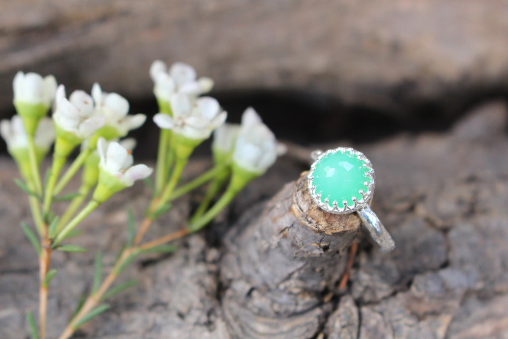 Princess Jewel with Chrysoprase - Kathryn Rebecca