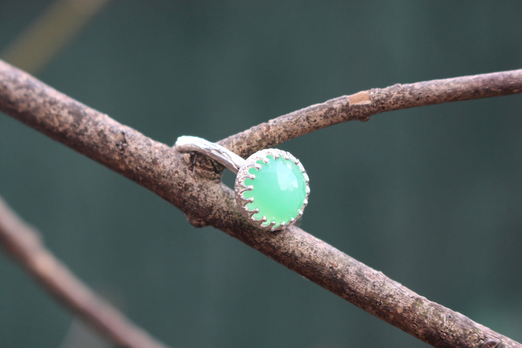 Princess Jewel with Chrysoprase